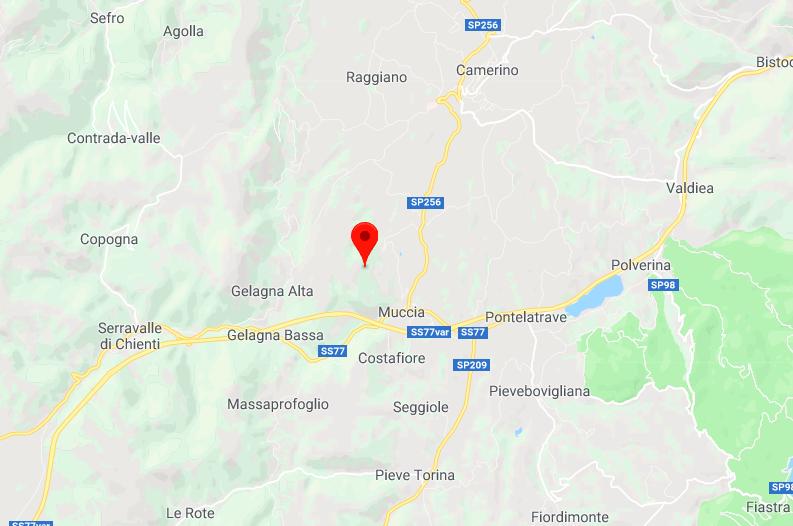 Terremoto oggi a Macerata: due scosse nella notte a Muccia