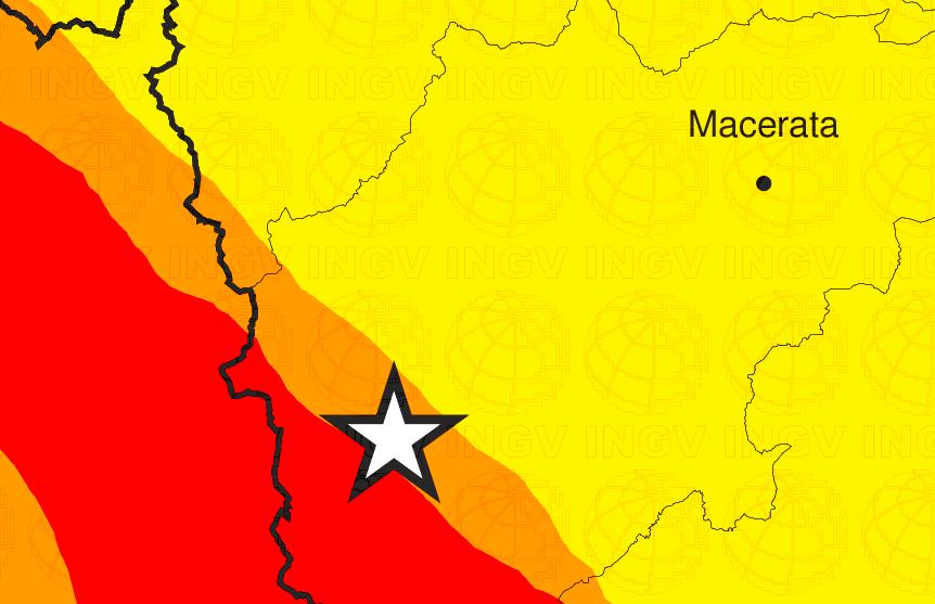 Terremoto, nuova scossa a Macerata: è l'ottava oltre magnitudo 2 dalla mezzanotte