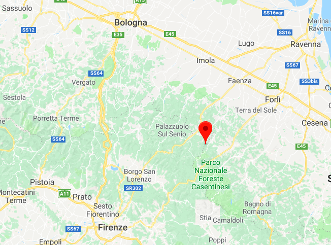 Terremoto oggi 3 maggio 2018 Forlì-Cesena: scossa magnitudo 3.3 a Tredozio