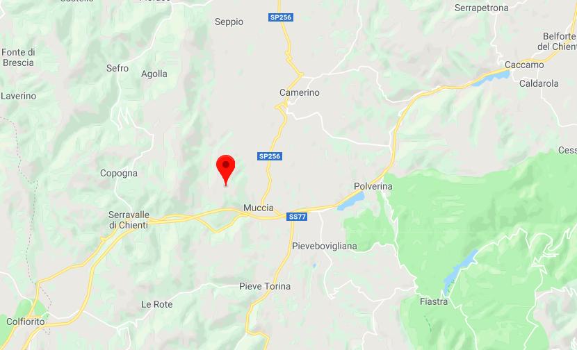 terremoto 21 maggio 2018 muccia