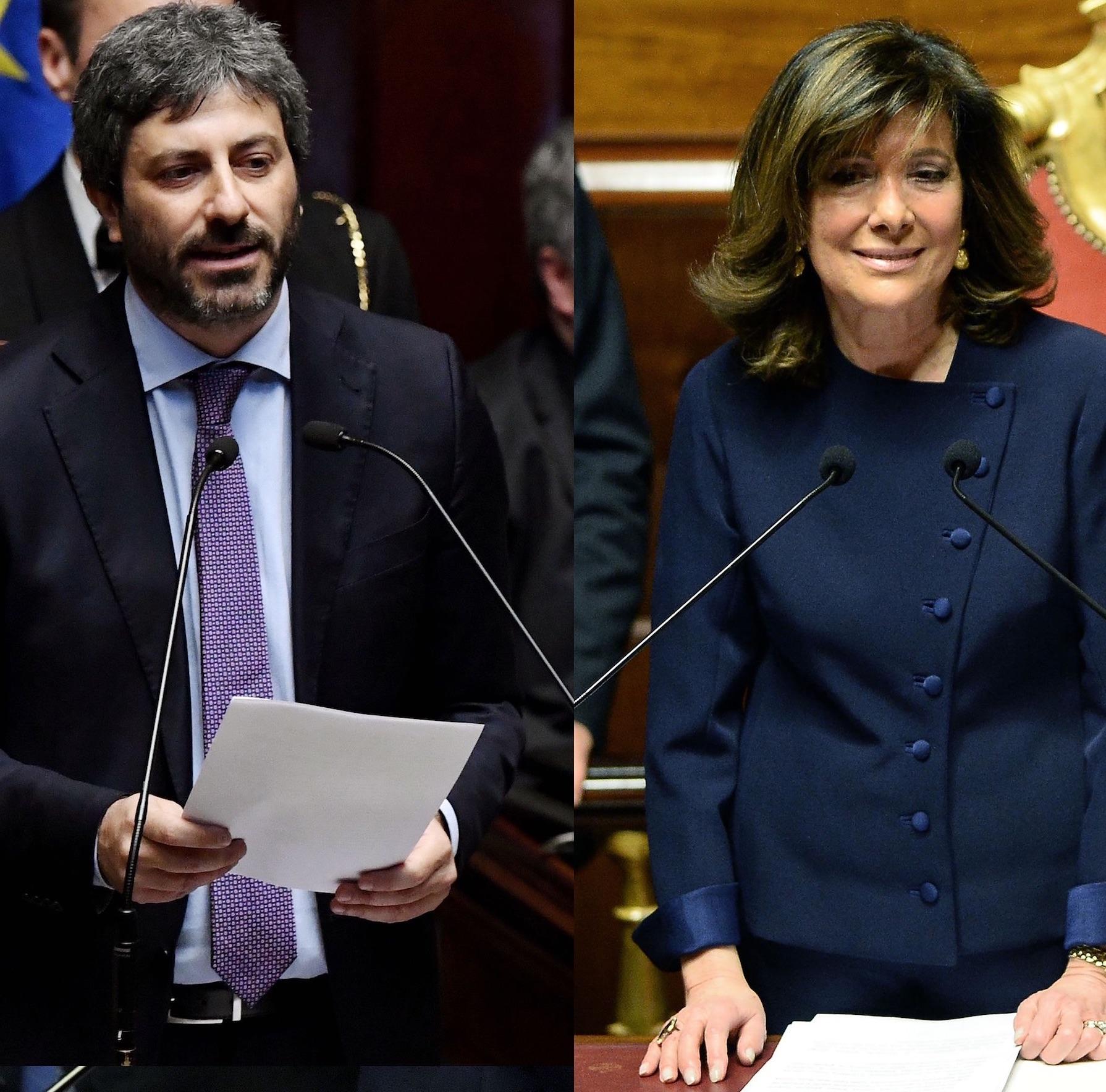 Governo news, Casellati e Fico al Quirinale: oggi l'incarico? Live blog e video streaming