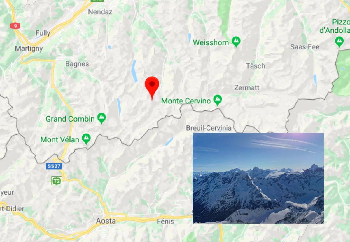 tragedia 5 alpinisti italiani morti sulla pigna d'arolla