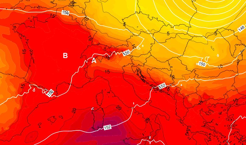 domenica 1° luglio 2018 dove farà più caldo