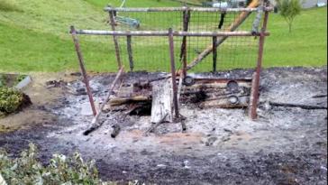 valtellina cani bruciati vivi
