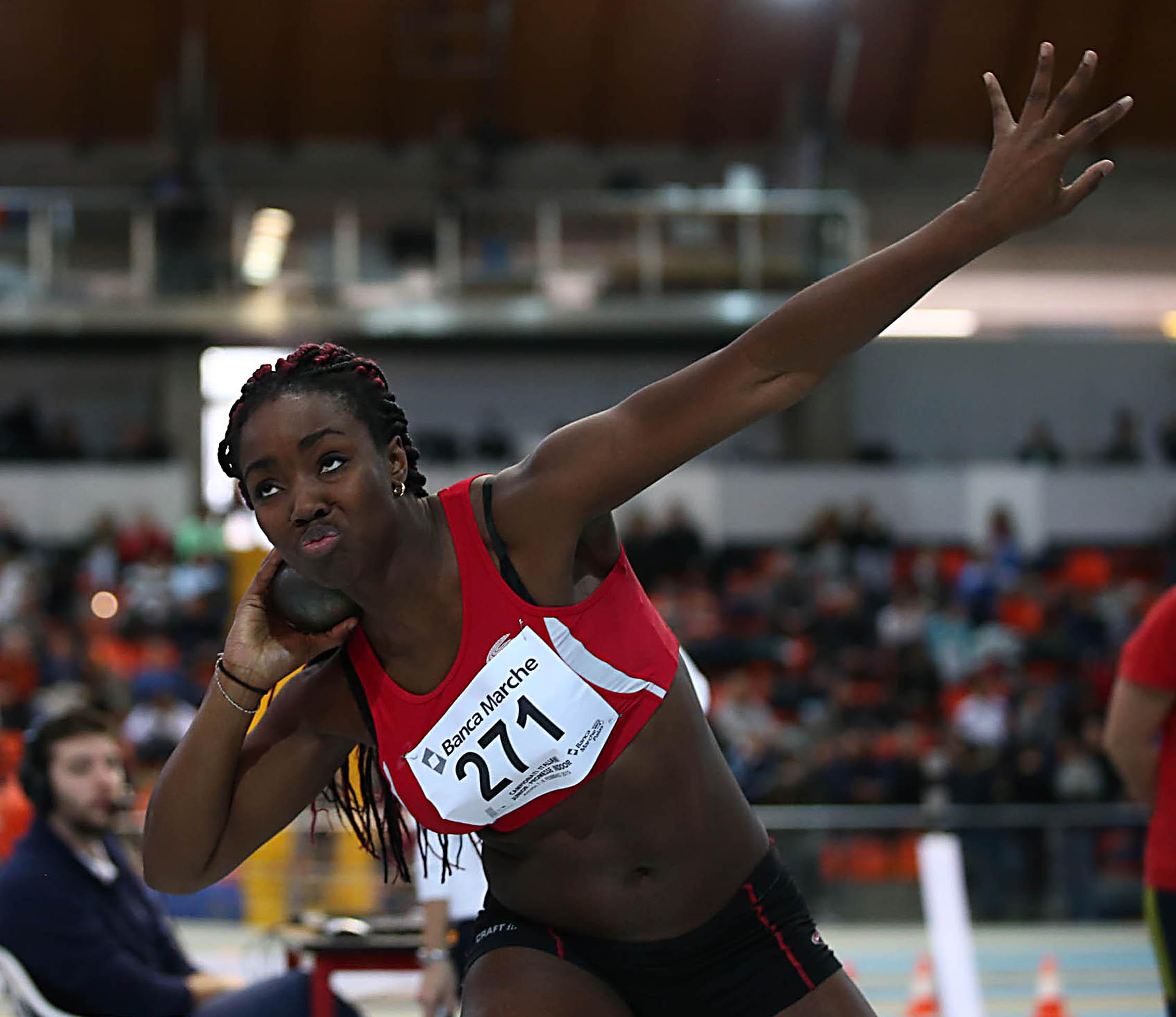 Campionessa di atletica ferita ad un occhio, Ederoclite: