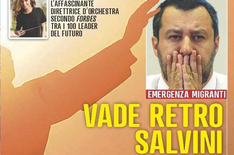 Rizzolo, direttore Famiglia Cristiana: «Mi fa piacere che Salvini si dichiari cattolico. ma purtroppo nei fatti non lo dimostra»