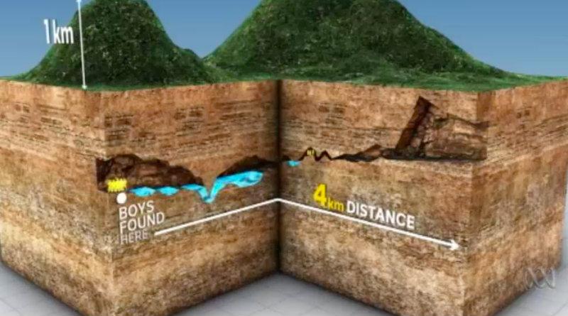 operazione salvataggio ragazzi bloccati in grotta