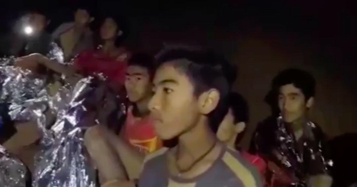 ragazzi bloccati grotta thailandia salvataggio