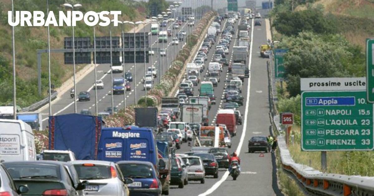 Autostrade in tempo reale: traffico, incidenti, chiusure oggi lunedì 15 ottobre 2018