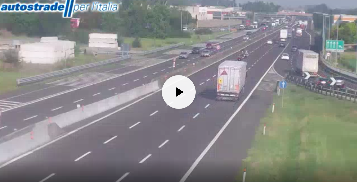 Autostrade in tempo reale: traffico, incidenti, chiusure oggi lunedì 6 agosto 2018