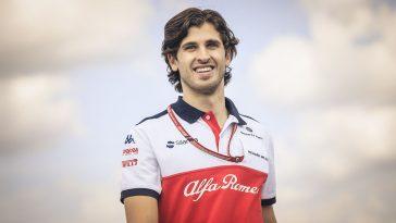 Antonio Giovinazzi Alfa Romeo Formula 1