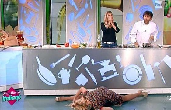 Lisa Fusco spaccata