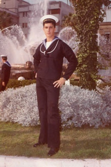 Davide Cervia scomparsa 1990