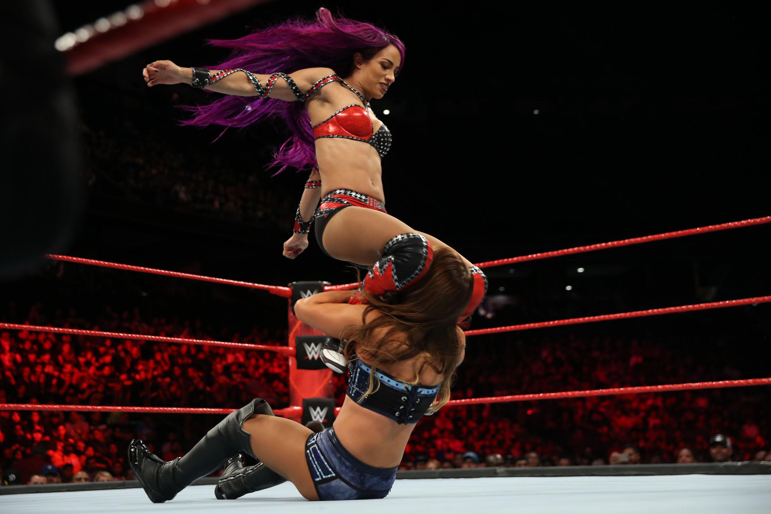 Sasha Banks wwe wrestling