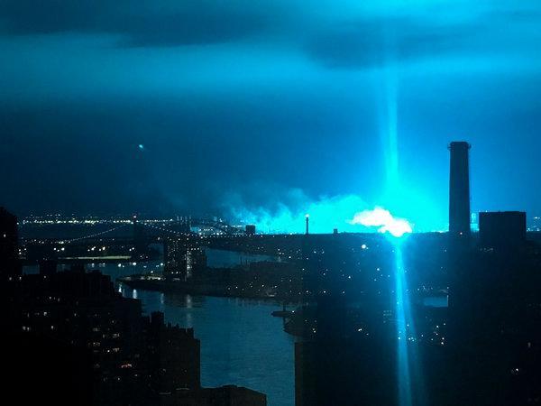 Cielo blu sopra New York