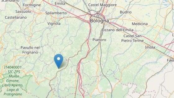 Terremoto appennino bolognese: 3 dicembre 2018