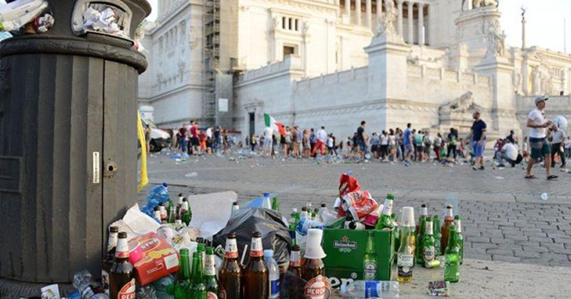 Roma in rovina, il New York Times