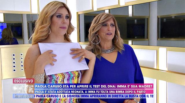 Paola Caruso Ritrova La Madre Biologica Lo Scoop Di Live Non è La D