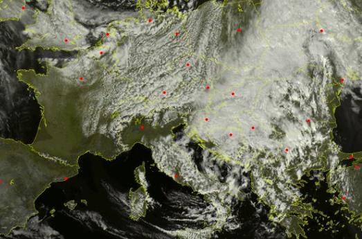 Previsioni meteo per il 9 maggio, torna la pioggia sull'Umbria