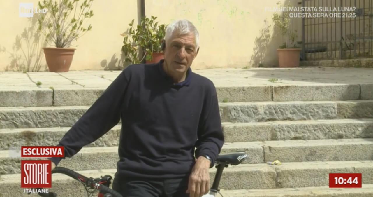 Ignazio Moser a Milano con Cecilia, papà Francesco: