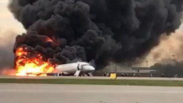 mosca incidente aereo