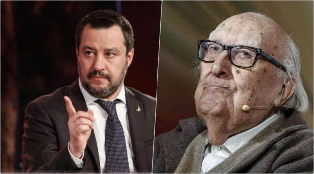 Salvini ad Andrea Camilleri: ''Scrivi che ti passa, io vado avanti''