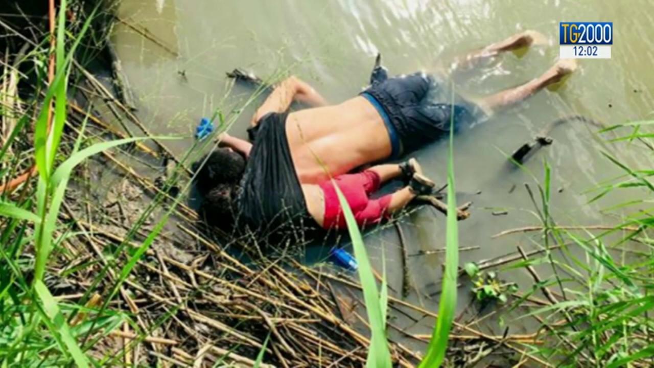 padre e figlia annegati tra messico e stati uniti