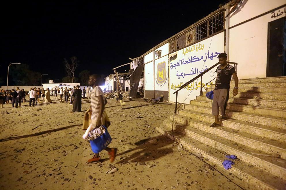 libia centro detenzione