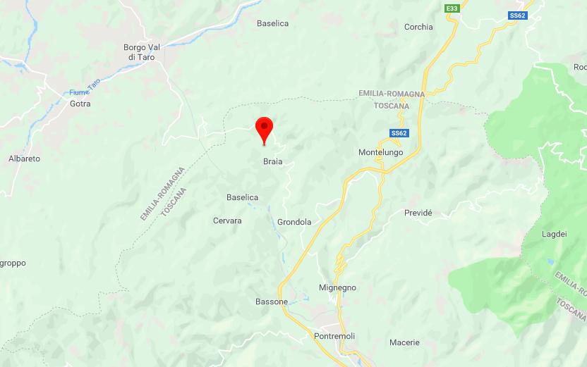 Terremoto Emilia Romagna e Toscana: due scosse a Pontremoli e Borgo Val di Taro