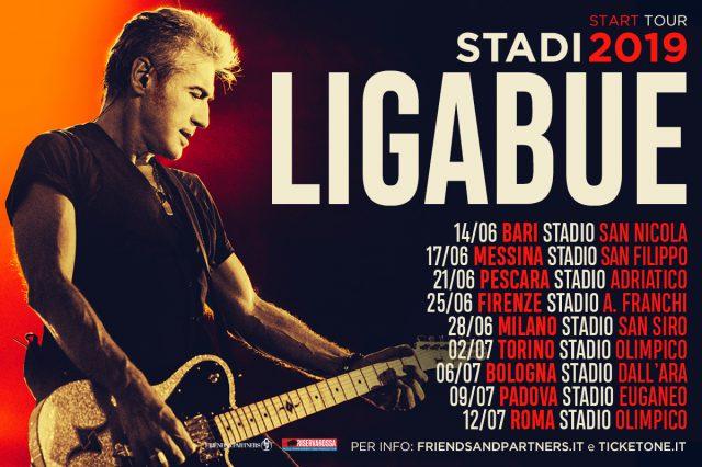 Ligabue start tour padova