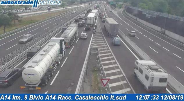 Autostrade in tempo reale oggi 12 agosto 2019