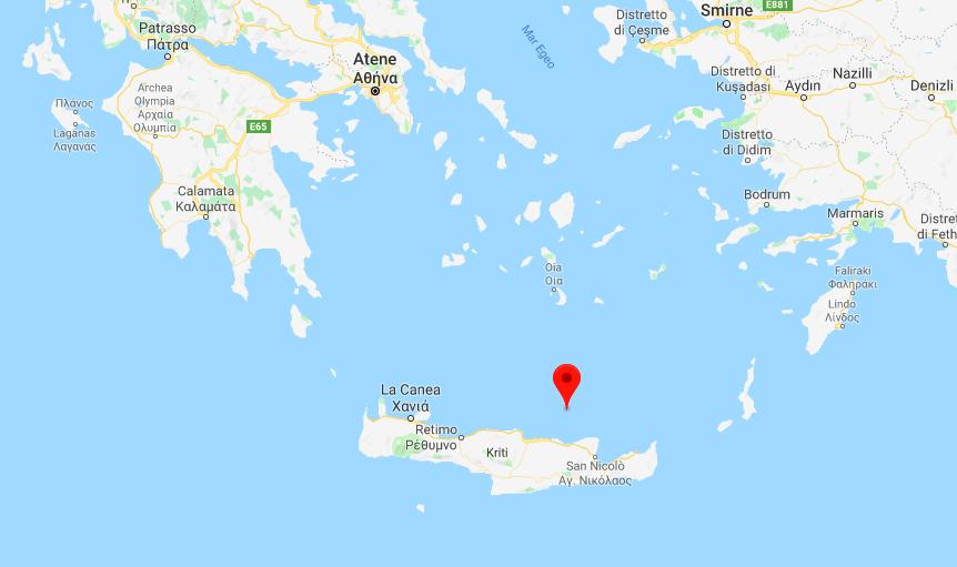 Terremoto oggi in Grecia
