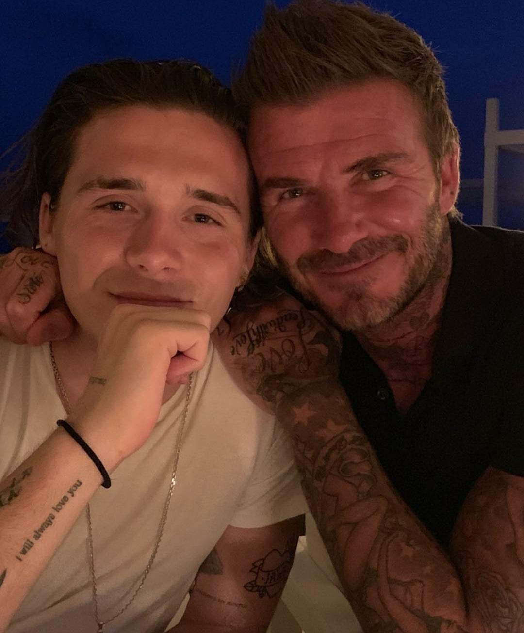 David e Victoria Beckham puglia