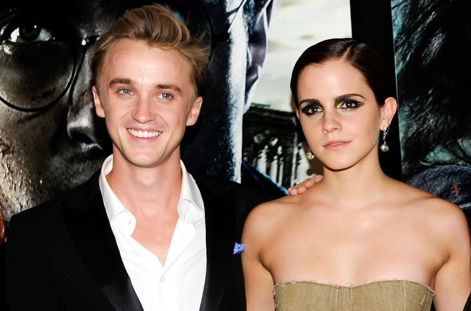 Emma Watson e Tom Felton inseparabili dai tempi di Harry Potter