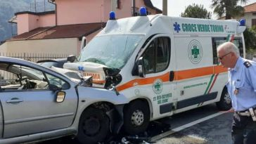 Lanzo Torinese incidente