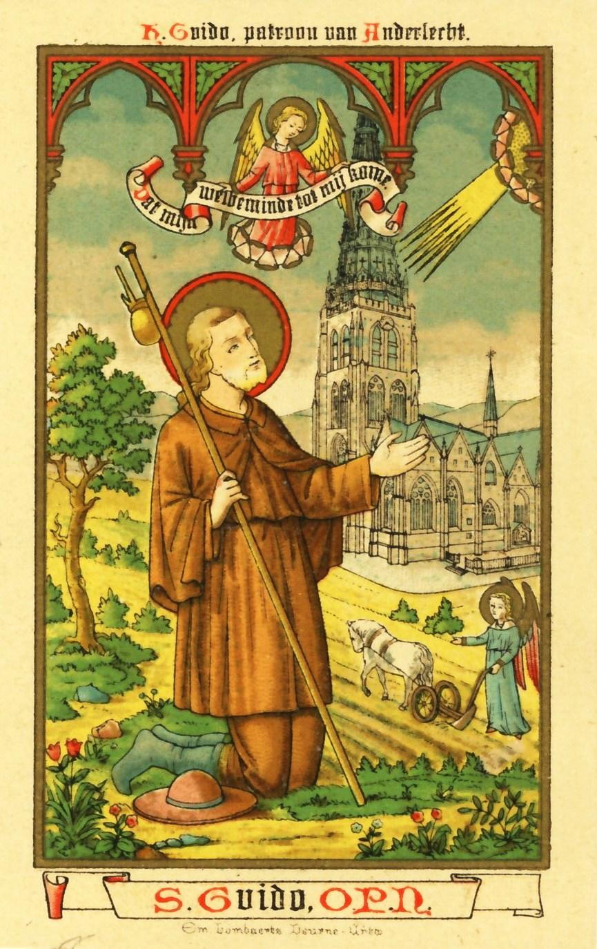 Santo Del Giorno Calendario.Il Santo Del Giorno 12 Settembre San Guido Di Anderlecht