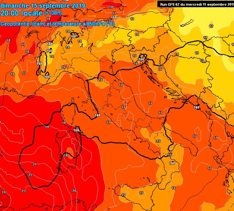 meteo prossimi giorni temperature