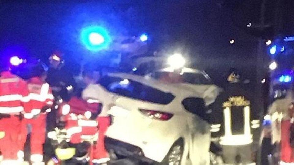 vigarano mainarda incidente tre ragazzi