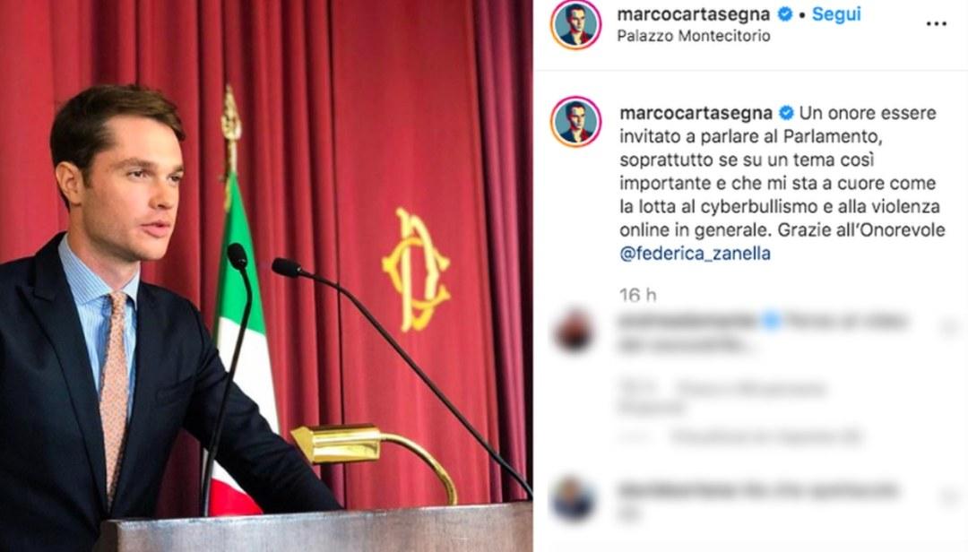 Marco Cartasegna parlamento
