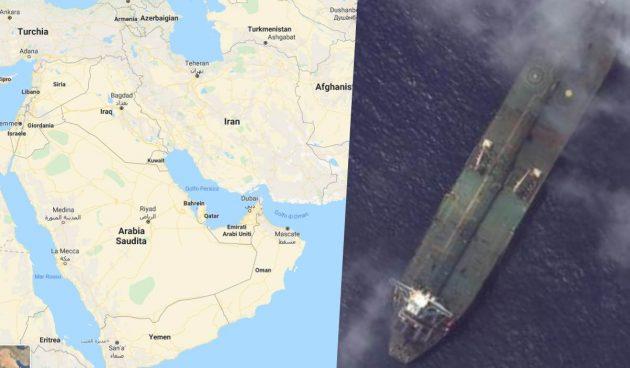 Petrolio in rally: nave in fiamme nel Mar Rosso, si teme terrorismo