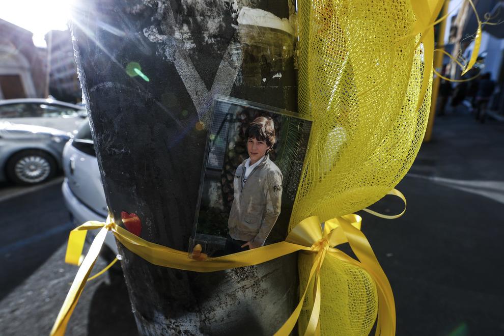 christian morto 13 anni fiori