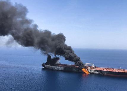 Il Brent sale dopo le esplosioni sulla nave iraniana