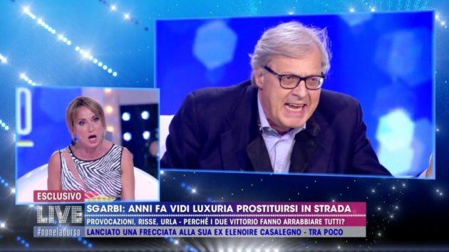 Vladimir Luxuria si scaglia contro Sgarbi e difende Paone: botta e risposta