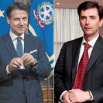 Roberto Chieppa e Giuseppe Conte
