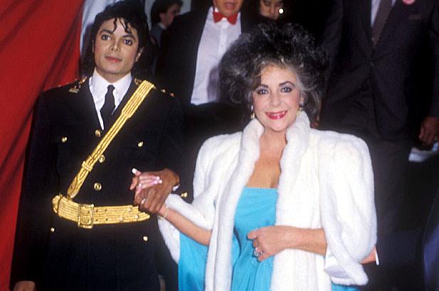 Michael Jackson Liz Taylor