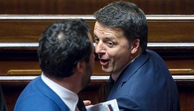 Salvini Renzi incontro