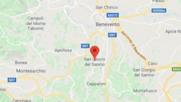 Benevento terremoto