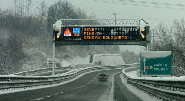 autostrade in tempo reale oggi