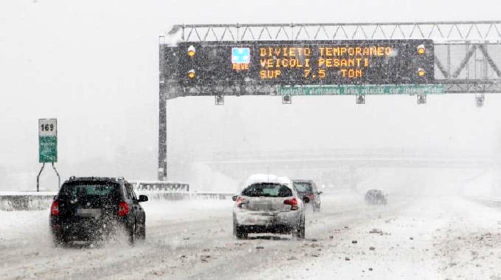 Autostrade in tempo reale oggi, giovedì 12 dicembre 2019: traffico, incidenti, cantieri, chiusure