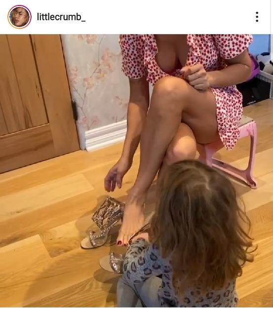 Elisabetta Canalis figlia Instagram